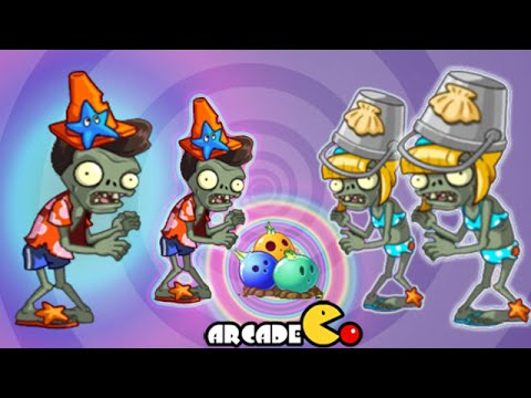 Plants Vs Zombies 2: First New Beach World Female Zombies Pyramid Of Doom 39