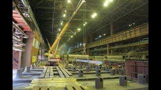 Электросталеплавильный цех ОЭМК встал на пятидневный плановый ремонт