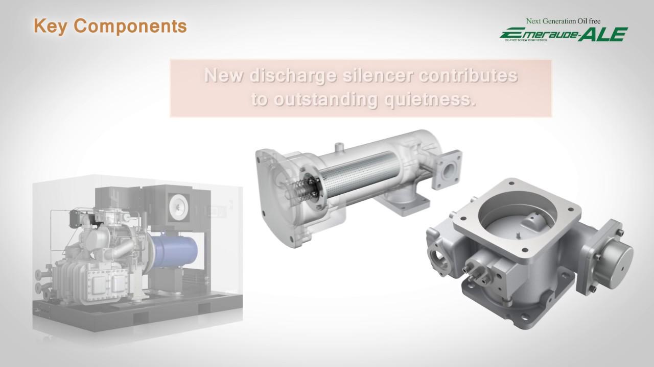 """KOBELCO New Oil-free compressor """"Emeraude-ALE"""""""