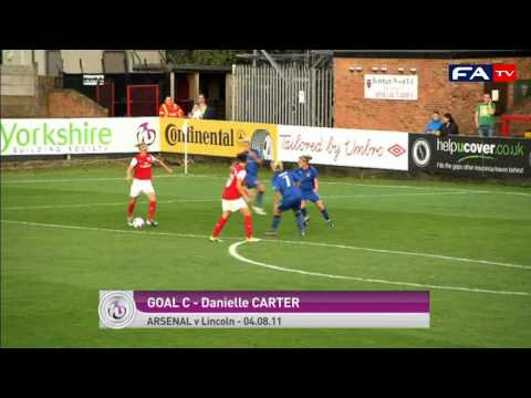 Goal of the Month August 2011 - FAWSL goals from Bristol, Everton, Arsenal and Lincoln