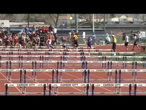 Sierra Lutheran High School Track Team at Carson High School, 4/27/13