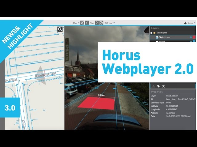 Horus Webplayer
