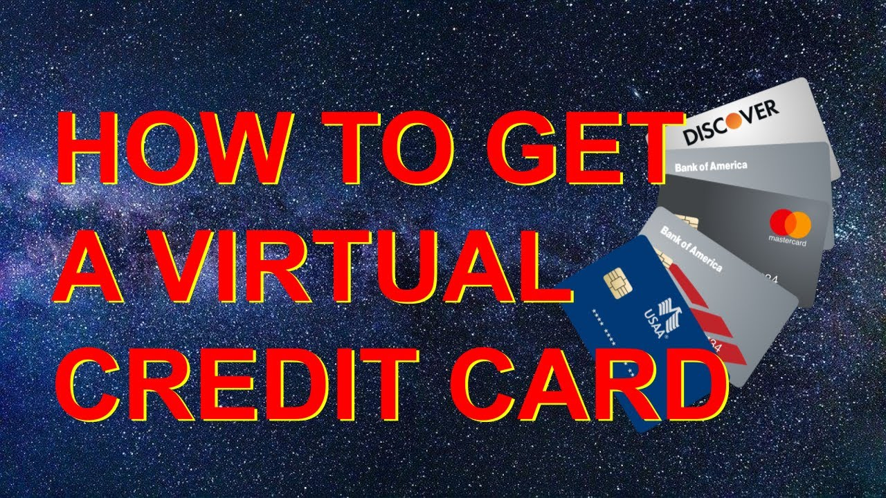 How To Get A Virtual Credit Card Free Usa Youtube
