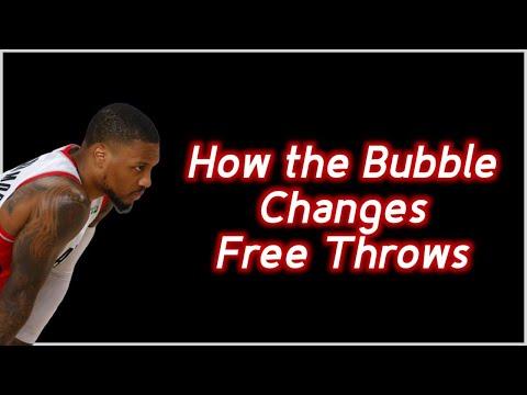 [Αthletic Alchemy] Why Free throw shooting is different in the bubble and how that could effect star players more.
