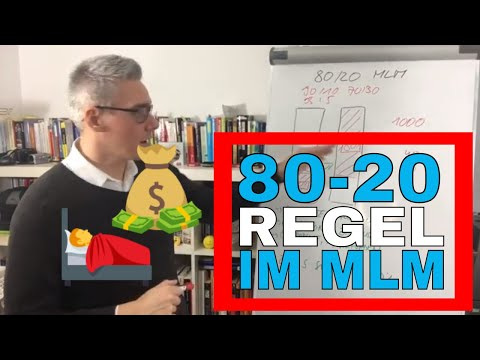 80-20 Regel im Network Marketing