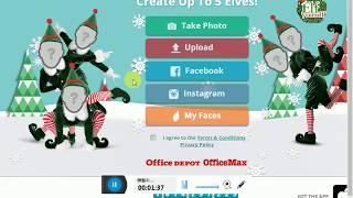 超爆笑 elfyourself 聖誕節 動畫合成教學