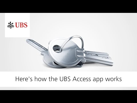 Login To E-Banking Via Access App | UBS