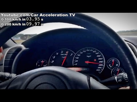 Corvette C6 Acceleration 0-300 & Launch Sounds