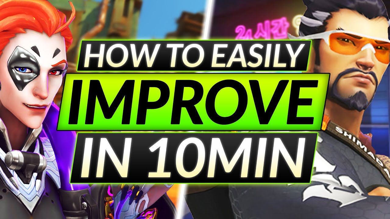 IMPROVE IN 10 MINUTES - EVERYONE NEEDS to MASTER This Skill - Overwatch Guide