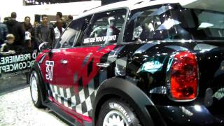 MINI WRC - Paris Automondial 2010