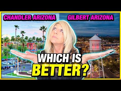 Living in Chandler Arizona VS Gilbert Arizona [EVERYTHING YOU NEED TO KNOW]