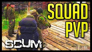 SCUM Squad PvP and Encounters