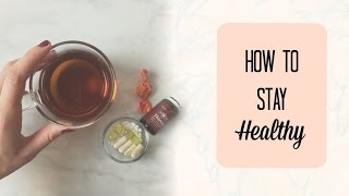 How to Stay Healthy During Cold & Flu Season // The Healthy Girl