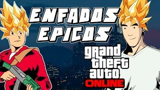 GTA 5 ONLINE : EPIC RAGE MOMENTS/ENFADOS EPICOS (GTA V GAMEPLAY)