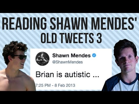 READING SHAWN MENDES' OLD TWEETS 3 (EXPOSED)