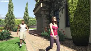 What Happens If You Catch Franklin and Amanda in GTA 5? (Trevor Caught Them)