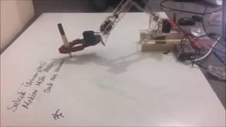 Gambar cover 4+1 Eksenli Yazıcı Robot Kolu Tasarımı