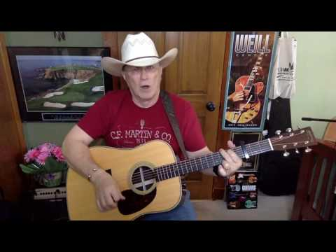 92b -  Wanted -  Alan Jackson cover -  Vocal & acoustic guitar & chords