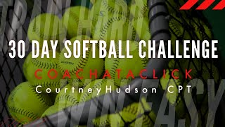 30 day softball pitching challenge