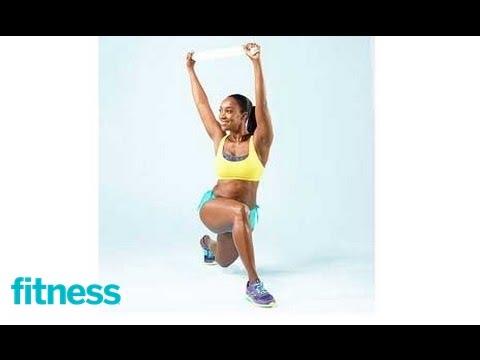 Lunge Twist Leg Exercise | Fitness