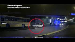 Tigre: Intensa persecución terminó con dos detenidos por robar un auto