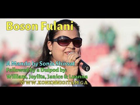 Boson Fulani - A Mando by Sonia Shirsat - Lyrics