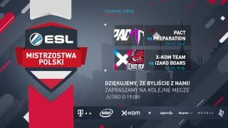 ESL Mistrzostwa Polski S17. Counter-Strike - Global Offensive - W3D1 - Na żywo