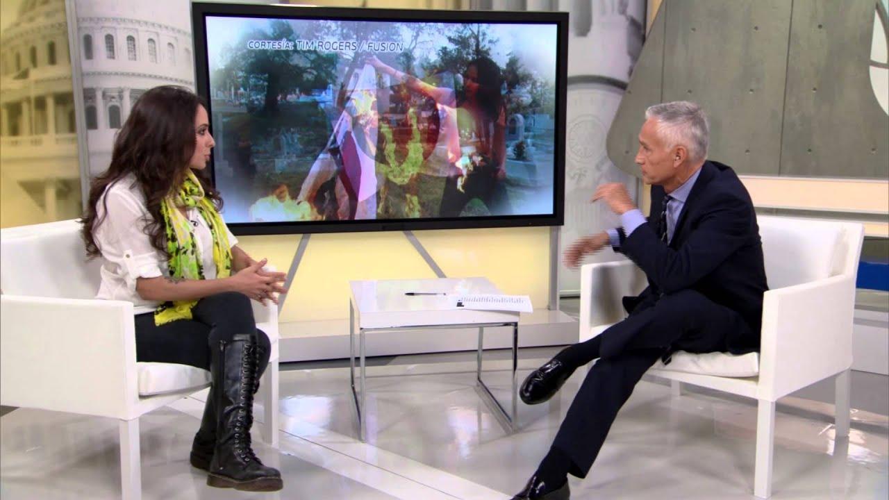 Jorge Ramos entrevista con Gisela Perez de Acha (Nov. 2014)