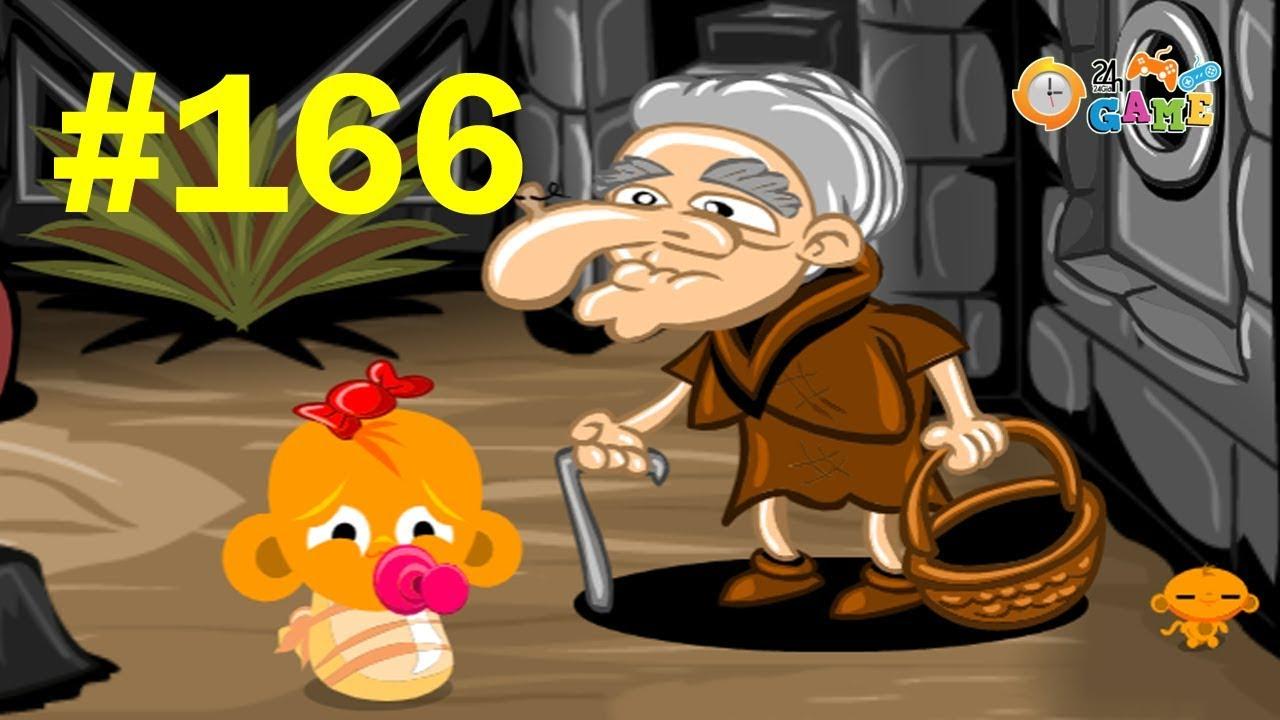 Chú Khỉ Buồn 166 – Hướng Dẫn Cách Chơi Game Chú Khỉ Buồn 166
