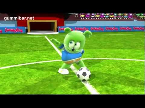 Gummibär - Go For The Goal - World Cup Soccer Song English Funny Gummy Bear USA United States.mp4