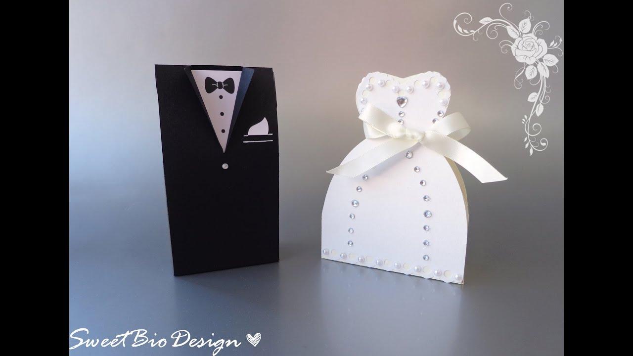 Favoloso Tutorial: Bomboniere Abiti da Matrimonio - Wedding dresses favors  LJ02