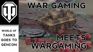 War Gaming with Wargaming: Playing a Tabletop Tanks Game