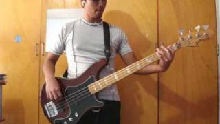 Spiderwebs - No doubt (bass cover)