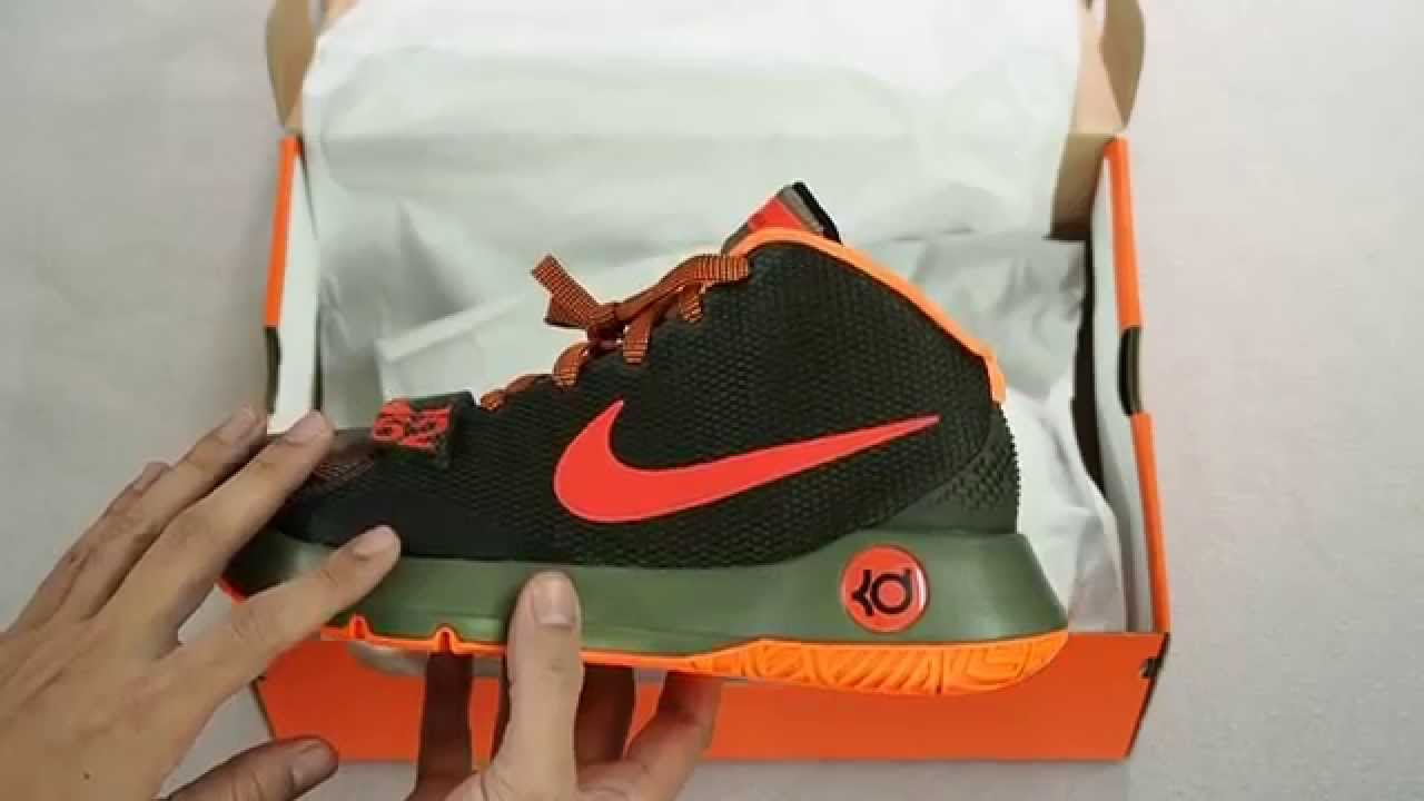 premium selection e0515 8efb0 Nike KD Trey 5 III - Olive Crimson Orange