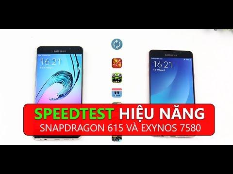 Speedtest hiệu năng giữa Snapdragon 615 và Exynos 7580: Cuộc chiến giữa 2 anh em cùng nhà.