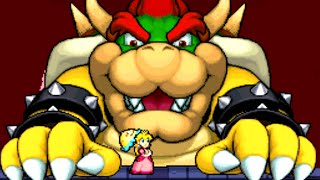 Super Princess Peach (DS) All Bosses (No Damage)