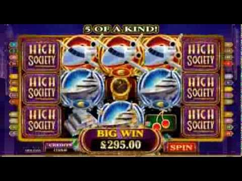 Platinum Play Casino | High Society Online Slot Game