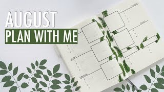 Bullet Journal AUGUST PLAN WITH ME 2018 | Reading Challenge + Developing New Habits