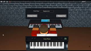 """Night of (K)Nights - Touhou by: ZUN on a ROBLOX piano. [""""Easy""""]"""