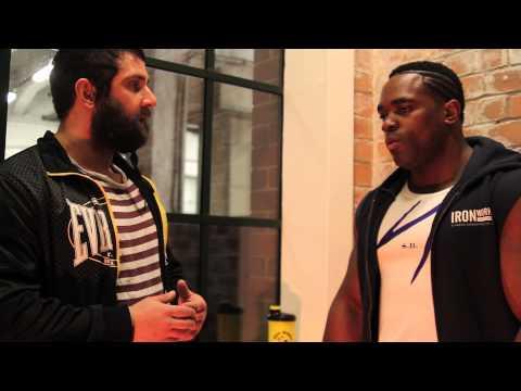 Chris Hughes - Interview with Shaun Blackwood (Iron Works Sponsored Athlete)