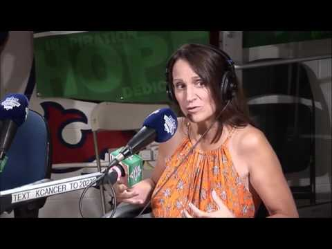 Lisa Scherber with D&C at 2016 Jimmy Fund Radio-Telethon
