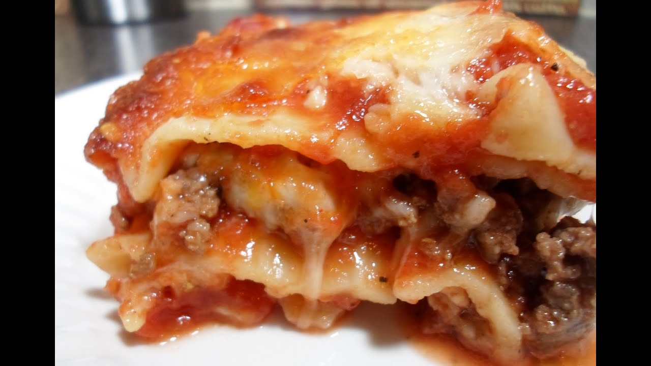 How to cook lasagna