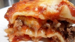 How To Make Lasagna - Easy Cooking!