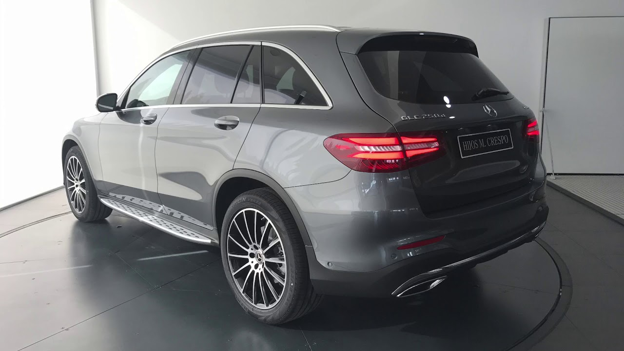 mercedes benz glc amg line gris selenita youtube. Black Bedroom Furniture Sets. Home Design Ideas