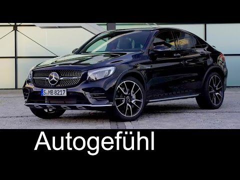 New Mercedes-AMG GLC 43 Coupé Preview Sound/Exterior neu 2017