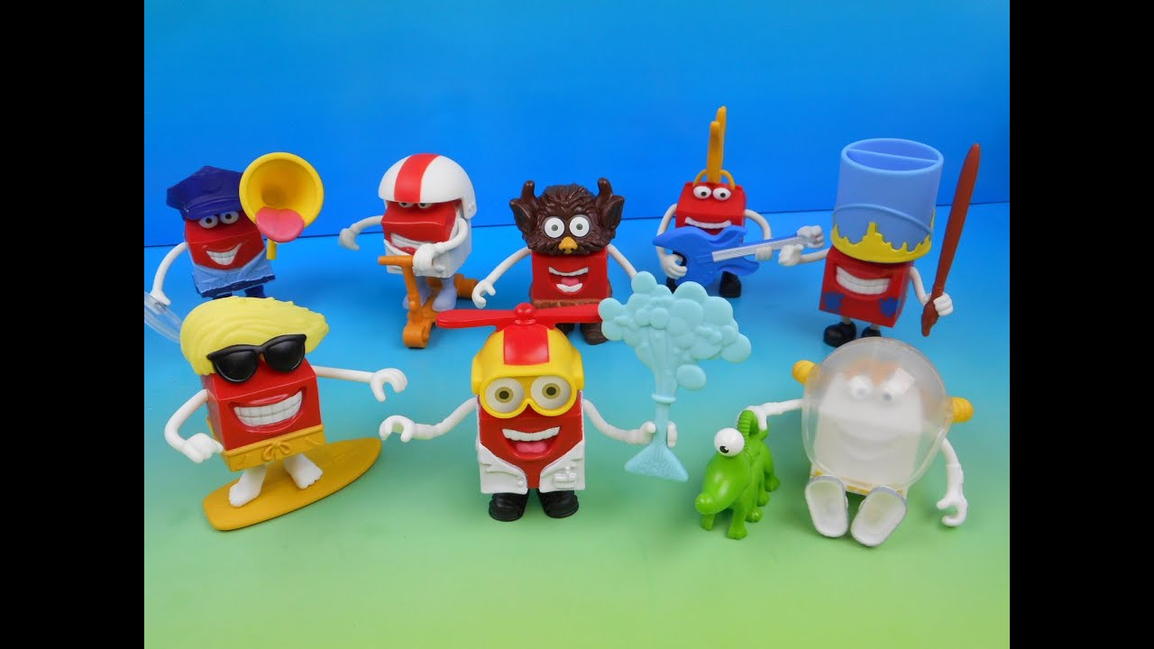 Toys From Mcdonald S Happy Meals : Happy in costume set of mcdonald s meal kids