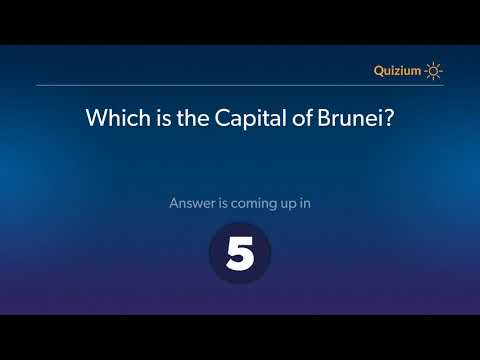 Which is the Capital of Brunei?   Brunei Quiz
