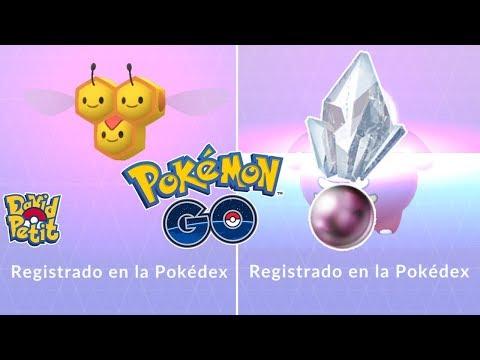 LOS DIFÍCILES REGISTROS DE 4 GENERACIÓN MÁS REGISTRO CON PIEDRA! [Pokémon GO-davidpetit] thumbnail