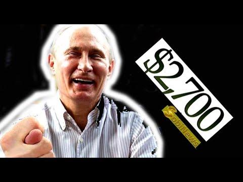 Как Путин врал про зарплату $2700 в России к 2020 году ))) SobiNews