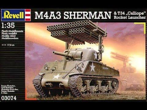 Redog 1:48 M4 Sherman tanks  logs